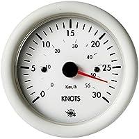 Spidometro 0-30 nodi 12 V bianco English: Speedom.0-30 knos 12V white
