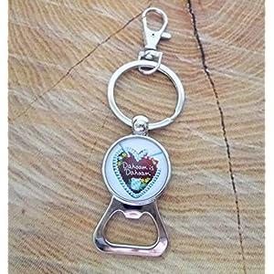 Flaschenöffner/Schlüsselanhänger mit