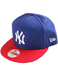 New Era Snap Back Cap New Era Mlb Cotton Block New York Yankees  Royal-Scarlet d7427ee8369f