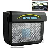 Drake Solar Powered Air Vent Cool Cooler Fan With Rubber Stripping New Car Auto Truck