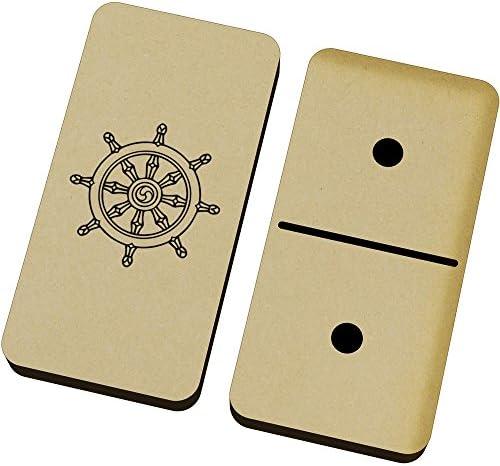 Azeeda 'Symbole Bouddhiste' et Domino Jeu et Bouddhiste' Boîte (DM00016513) B0764VP5NR 78dad5