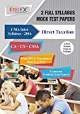 CMA Inter Direct Taxation Mock Test Papers