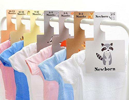 wände - wilde Tiere (organisieren Baby Kleidung nach Größe) (Baby-tier-kleidung)