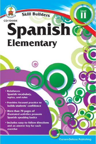 Skill Builders Spanish Level 2 by Carson-Dellosa