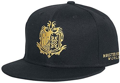Monster Hunter World - Logo Snapback Cap Black