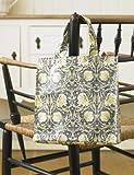 Licensed William Morris Pimpernel Cream Small Shopping PVC Tote Bag