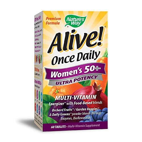 Nature \'s Way Alive. Einmal täglich Damen 50+ Ultra Potenz Multivitamin, 60Tabletten