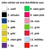 Elefantasie Taufschleife mit Taufdatum Namen und Geburtsdatum personalisiert Modell Taube rosa - 2