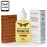 100% Incredible Natural Beard Oil and Conditioner By Instaglider™. Advanced Ultra-Rich Formula With Royal Frankincense™ & Nigella Sativa Softens, Relaxes & Promotes Healthier Beard Growth (35ml Bottle) – Bonus E-Book Included.