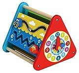 Tooky Toy - Multifunktions-Activity-Center - Abacus - Lernuhr - Pädagogisches Spielzeug für Kleinkinder