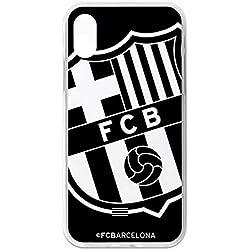 Carcasa Oficial FC. Barcelona Negro iPhone X