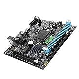 Bewinner Sockel 1151 Motherboard, DDR3 USB3.0 Innovative M-SATA-Schnittstelle Integrierter 6-Kanal-Audio-Chip Integrierte RTL8105E-Netzwerkkarte Nuclear Display HDMI-Desktop-Computer-Mainboard