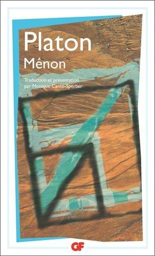 Ménon par Platon