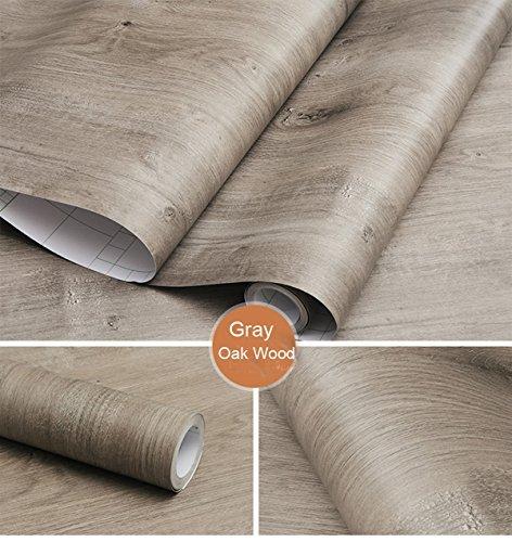 Dekor Eiche grau Holz Kontakt Papier Vinyl selbstklebend Regal Schublade Liner für Badezimmer Küche Schränke Regale Kunst und Handwerk Aufkleber 61x 297,2cm