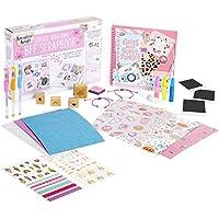 KreativeKraft Kit de Manualidades para Niños Scrapbooking, Incluye Pegatinas de Unicornio Album Fotos Scrapbook Boligrafos de Gel Purpurina, Regalos Originales para Niños Niñas 8+