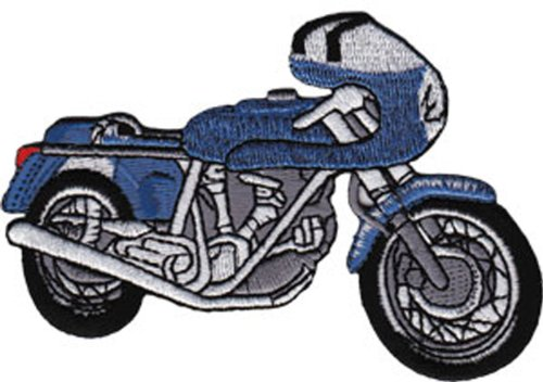 Application Blue Cafe Racer Patch