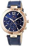 Tommy Hilfiger Mixte Multi-cadrans Quartz Montres bracelet avec bracelet en Cuir -...