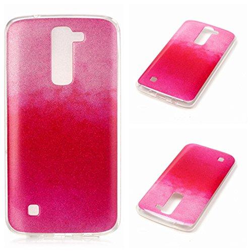 Voguecase® für Apple iPhone 7 Plus 5.5 hülle, Schutzhülle / Case / Cover / Hülle / TPU Gel Skin (Kassette 02) + Gratis Universal Eingabestift Fader II/Pink,Rosa