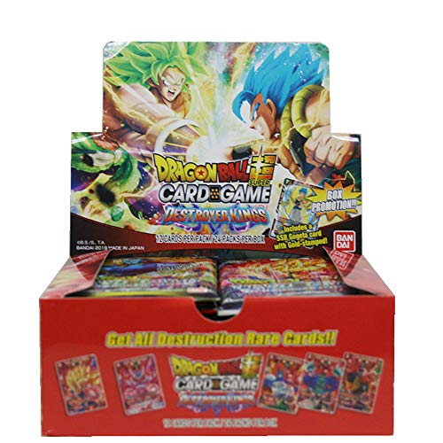 Dragon Ball CG: Booster Destroyer Kings - Display mit 24 Booster - (Dragon Ball-karten-box)