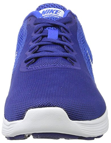 Nike Men's Revolution 3 Running Shoe, Scarpe Sportive Indoor Uomo Blu (Deep Royal Blue/white-hyper Cobalt)