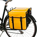 Beluko® Waterproof Classic Double Pannier Bag Bicycle Cycle Review and Comparison