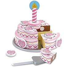 Melissa & Doug - 14069 - Torta di Compleanno A Tre Strati in Legno