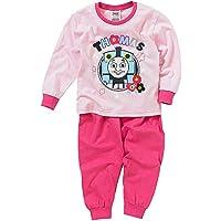 Thomas & Friends Girls Heart Flower Print Long Pyjamas Set