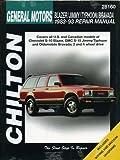 Chevrolet Blazer, Jimmy, Typhoon, and Bravada, 1983-93 (Chiltons Total Car Care Repair Manual)