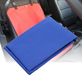 Amazingdeal365 Waterproof Warm Car Front Cushion Seat Cover Protector Pet Mat(Blue)