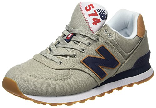 New Balance Ml574v2 Yatch Pack, Zapatillas para Hombre, Blanco (White), 41.5 EU