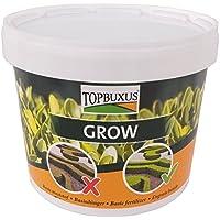 TOPBUXUS GROW - Abono, 5 kg para 100 m² de boj, adiós a las hojas amarillas, haz como los profesionales