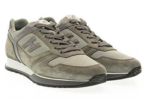 HOGAN scarpe uomo sneakers basse HXM3210X640FJS598K H321 Grigio