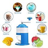 Handkurbel Small Home Essential Küche Appliance Ice Crusher mit freundlicher Edelstahl Manuelle Schleifstifte für schnelles Zerkleinern