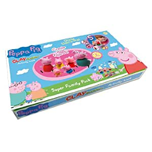 Peppa Pig Clay Buddies Super Set [Import allemand]