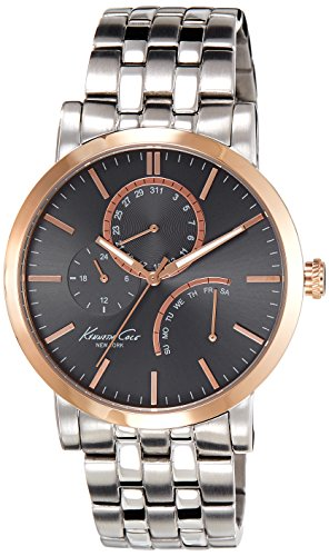 KENNETH COLE KC9260 GENTS STEEL BRACELET 44MM ROSE GOLD CASE CHRONOGRAPH WATCH