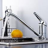 Long Tou Moderne Küchenarmatur Wasserhahn Küche Armatur Küchenarmatur Leicht zu Montieren Rost-Proof Waschbeckenarmatur Einhandmischer für Küchen Bad,34
