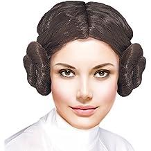 Peluca de Princesa de las Galaxias Accesorio Carnaval