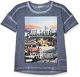 NAME IT Jungen T-Shirt Nkmkenn SS Top, Blau (Vintage Indigo), 134 (Herstellergröße: 134-140)