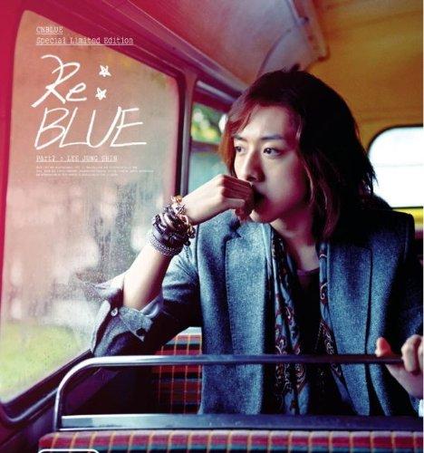 KPOP CD, CNBLUE - 4TH MINI ALBUM RE:BLUE : Jeongshin ver - LIMITED EDITION : CD+DVD+PHOTOBOOK [002kr] (Dvd Cnblue)