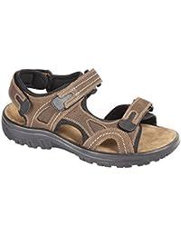 Footwear Sensation , Sandales de marche pour homme Marron marron