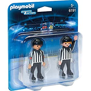 Playmobil 6191 Sports & Action Ice Hockey Referees