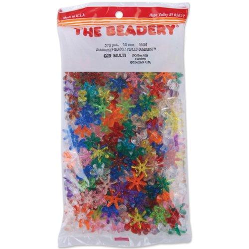 Beadery Sunburst Perles 18 mm 270/Pkg-multicolor, Multicolore