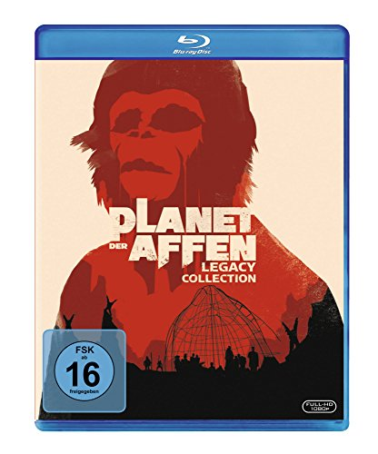 Bild von Planet der Affen - Legacy Collection [Blu-ray]