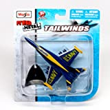 Tailwinds Maisto Fresh Metal Tailwinds 1:137 Scale Die Cast United States Military Aircraft