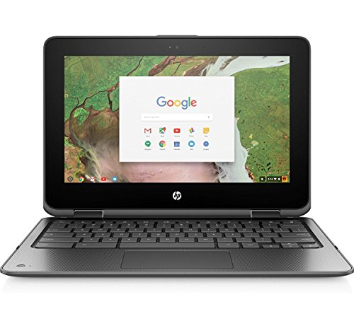 HP Chromebook x360 Celeron 11.6 inch IPS eMMC Convertible Grey