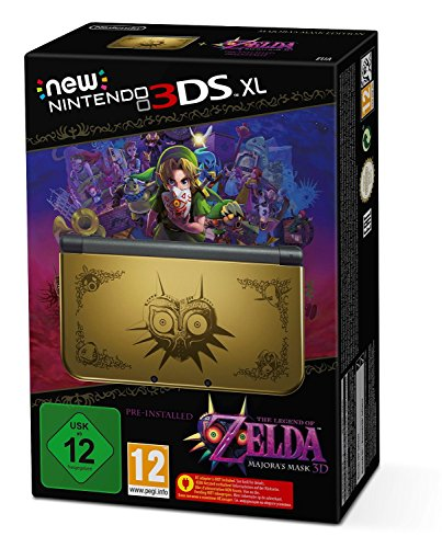 Nintendo 3DS - Konsole New 3DS XL - Limited Majoras Mask Edition (3ds Xl Konsole Limited Edition)