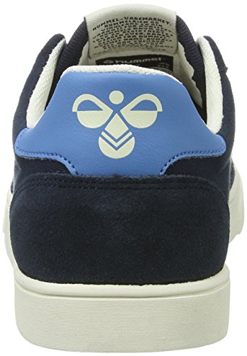 Hummel Sl. Stadil Duo Canvas Low, Sneakers Basses Mixte Adulte Bleu (Total Eclipse)