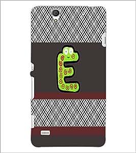 PrintDhaba GRANDbet E D-4329 Back Case Cover for SONY XPERIA C4 (Multi-Coloured)