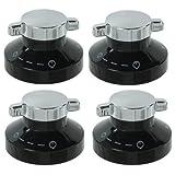 First4spares-Diplomat Gas di manopole di controllo per forni e fornelli, cucine, confezione da 4 pezzi