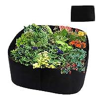 Asunflower Raised Gardening Beds, Fabric Veggies Planter Grow Bag (2